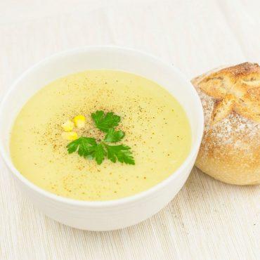 سوپ تره فرنگی و گل کلم